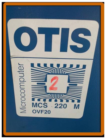 control otis2 ตู้คอนโทรล
