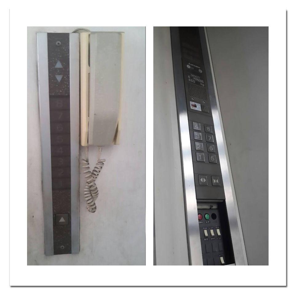ลิฟท์กระจกมือสอง 3 ลิฟท์กระจกมือสอง  มิตซูบิชิ   Mitsubishi 450 kg
